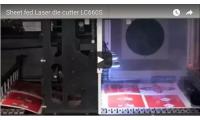 Video Sheet fed Laser die cutter LC660S
