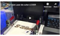 Laser die cutter LC330R